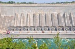 Barrage hydraulique aux chutes du Niagara photos libres de droits