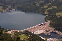 Barrage hydraulique en Serbie Images libres de droits