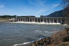 Barrage hydro-électrique Photo libre de droits