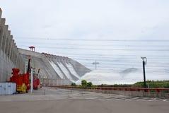 Barrage hydro-électrique de Guri photo libre de droits