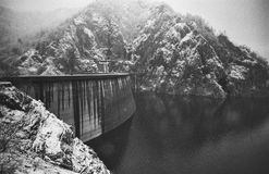 Barrage, hydroelectric Stock Images