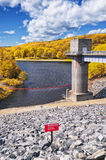 Barrage Naugatuck de ruisseau d'houblon photographie stock