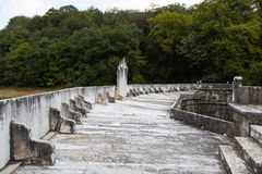 Barrage. Old Barrage in Belgrad Forest, Istanbul, Turkey stock photos