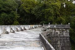 Barrage. Old Barrage in Belgrad Forest, Istanbul, Turkey royalty free stock photo