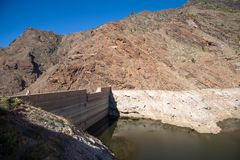 Barrage Presa Del Parralillo images stock