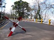 Barrage routier de Murree Image libre de droits