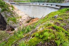 Barrage Sarvfossen en Norvège Photographie stock
