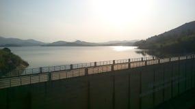 Barrage Sri Lanka de Moragahakanda photo libre de droits