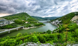 Barrage Tzonevo Photo stock