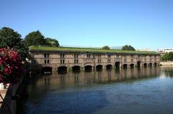 Barrage Vauban à Strasbourg Photographie stock libre de droits