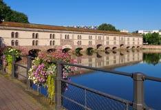 Barrage Vauban in Strasbourg, Alsace. France Stock Photos