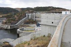 Barragem fa Alqueva Fotografia Stock