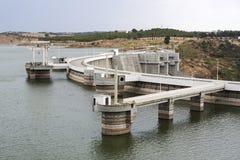 Barragem fa Alqueva Immagine Stock Libera da Diritti