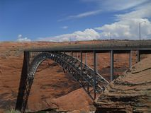 Barragem Glen Canyon fotos de stock royalty free