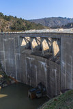 Barragem Grangent Fotografia de Stock