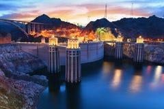 Barragem Hoover Imagens de Stock Royalty Free