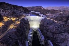 Barragem Hoover Imagem de Stock