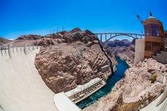A barragem Hoover Fotografia de Stock
