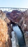 Barragem Hoover fotografia de stock royalty free