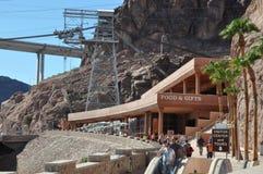 Barragem Hoover em Nevada Foto de Stock