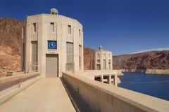 Barragem Hoover - Nevada Time Imagem de Stock