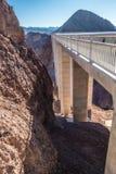 Barragem Hoover no hidromel do lago no stateline de nevada e de Arizona fotos de stock royalty free