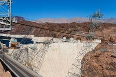 Barragem Hoover, o Arizona Foto de Stock