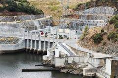 Barragem robi Alqueva Zdjęcie Stock