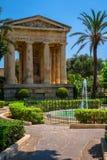 Barrakka-Gärten Stockfoto