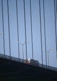 Barramento na ponte Foto de Stock Royalty Free