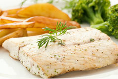 Barramundi filet Stock Photo