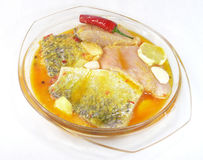 Barramundi meal Royalty Free Stock Image
