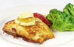 Barramundi meal Royalty Free Stock Image