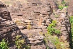 Barranca africana imagen de archivo