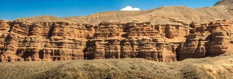 Barranca de Charyn Imagen de archivo libre de regalías