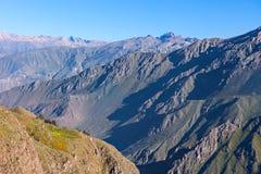 Barranca de Colca, Perú Imagenes de archivo