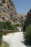 Barranca de Crete imágenes de archivo libres de regalías