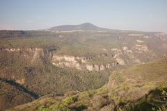 Barranca de Huentitan. The Barranca de Huentitan, a deep canyon near Guadalajara, Mexico Royalty Free Stock Photos