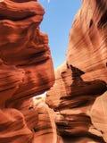 Barranca de la ranura en Arizona fotografía de archivo libre de regalías