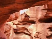 Barranca de la ranura en Arizona Imagenes de archivo
