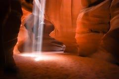 Barranca de la ranura en Arizona Foto de archivo libre de regalías