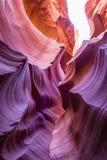 Barranca de la ranura en Arizona Imagen de archivo libre de regalías