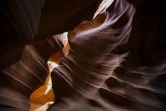 Barranca de la ranura en Arizona Fotos de archivo libres de regalías