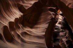 Barranca de la ranura en Arizona Imagen de archivo