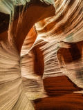 Barranca de la ranura en Arizona Fotografía de archivo