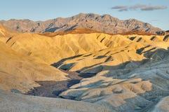 Barranca de oro, Death Valley Fotografía de archivo