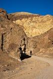 Barranca de oro en Death Valley Imagen de archivo libre de regalías