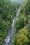 Barranca de Quechee en Vermont imagen de archivo libre de regalías