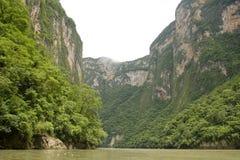 Barranca de Sumidero Foto de archivo libre de regalías