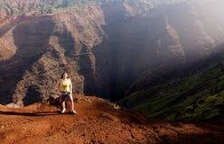 Barranca de Waimea en Kauai Fotografía de archivo libre de regalías